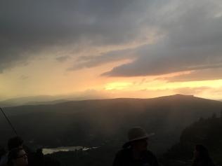 night sunset